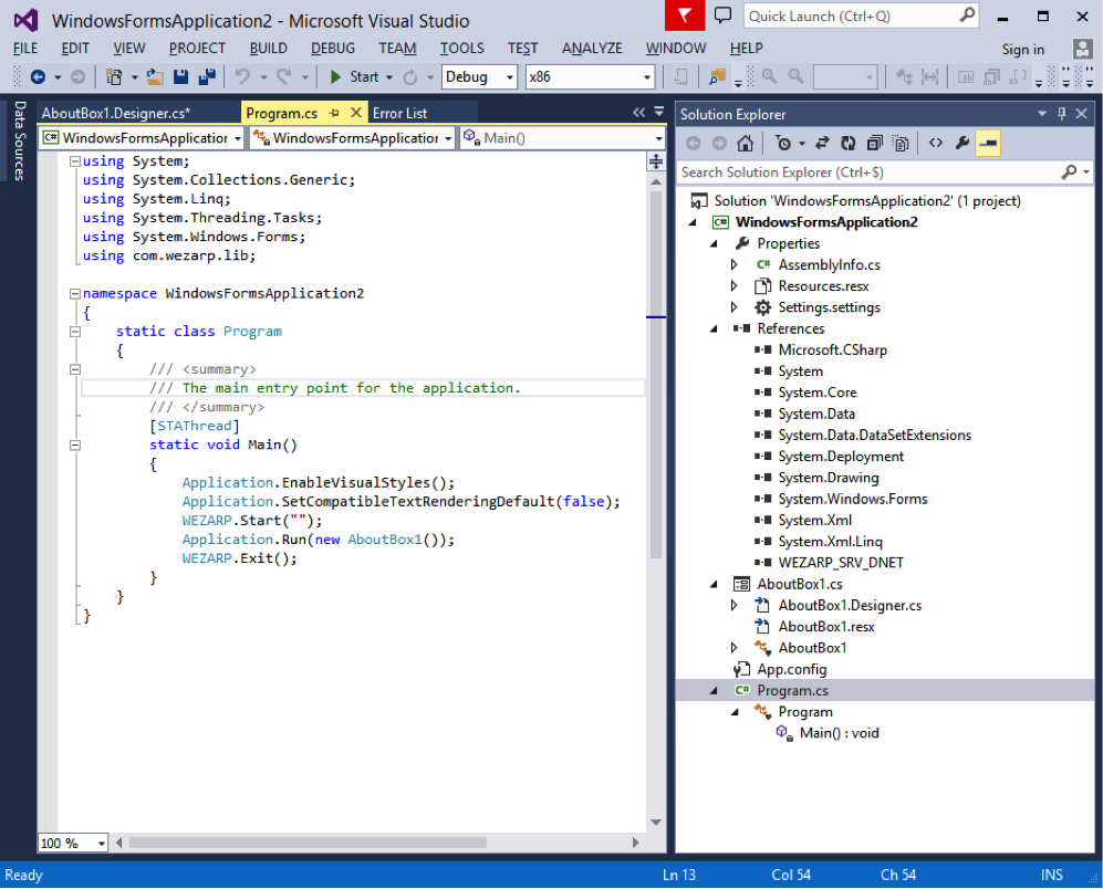 C# Remote Desktop Software Project